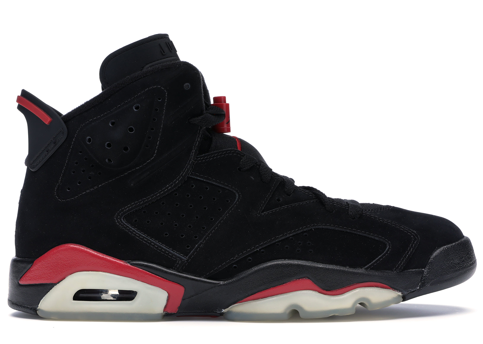 Jordan 6 Retro Black Varsity Red (2010