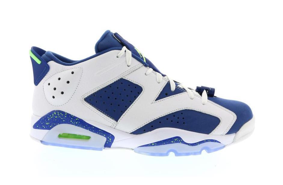 Jordan 6 Retro Low Ghost Green - 304401-106