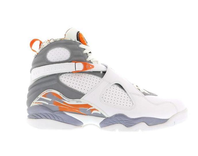 Jordan 8 Retro Orange White - 305381-102