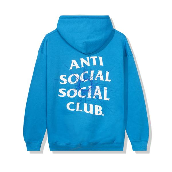 Anti Social Social Club Theories Hoodie Sapphire