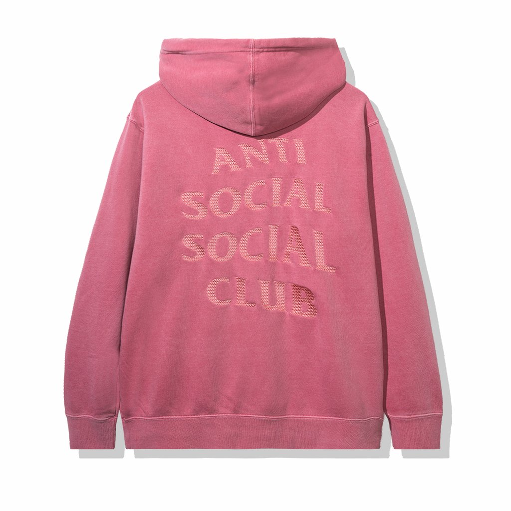 Anti Social Social Club Tone Deaf Hoodie Red