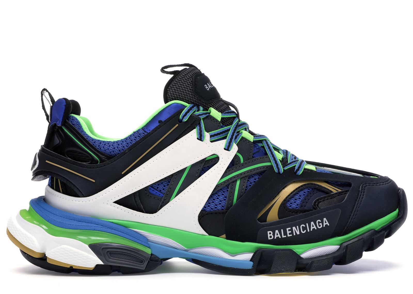 Balenciaga Track Green White Blue