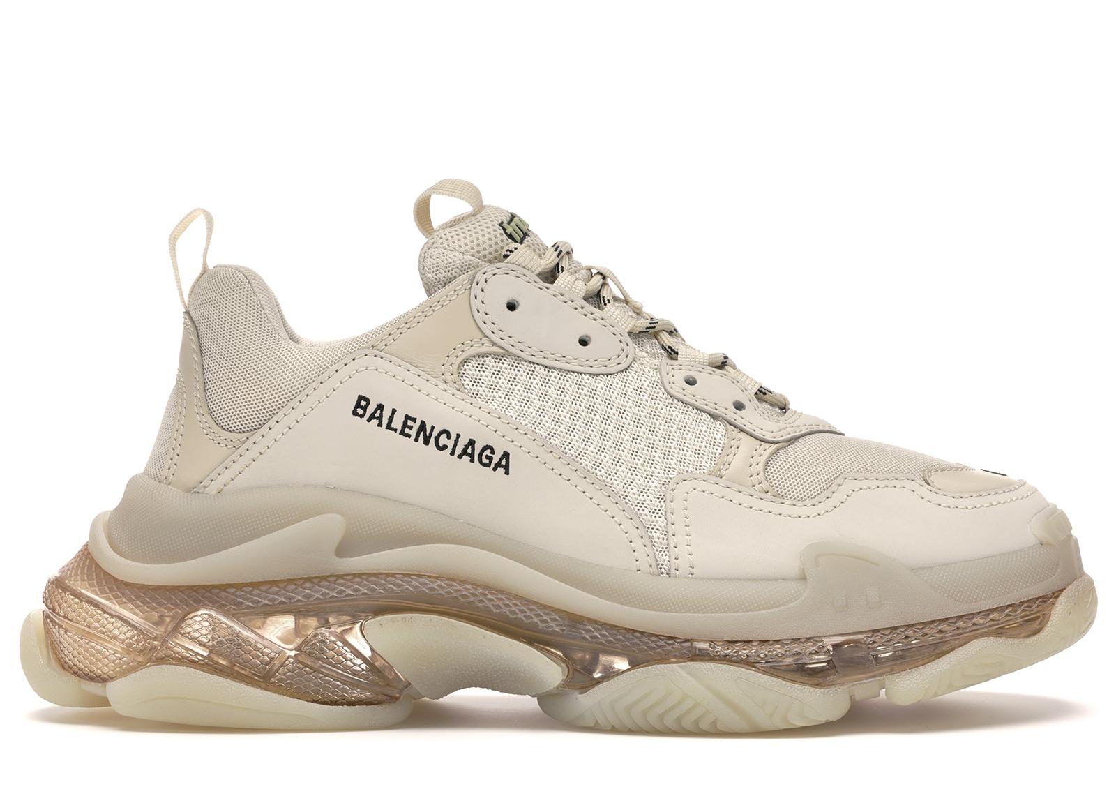 Balenciaga Triple S Off-White - Sneakers