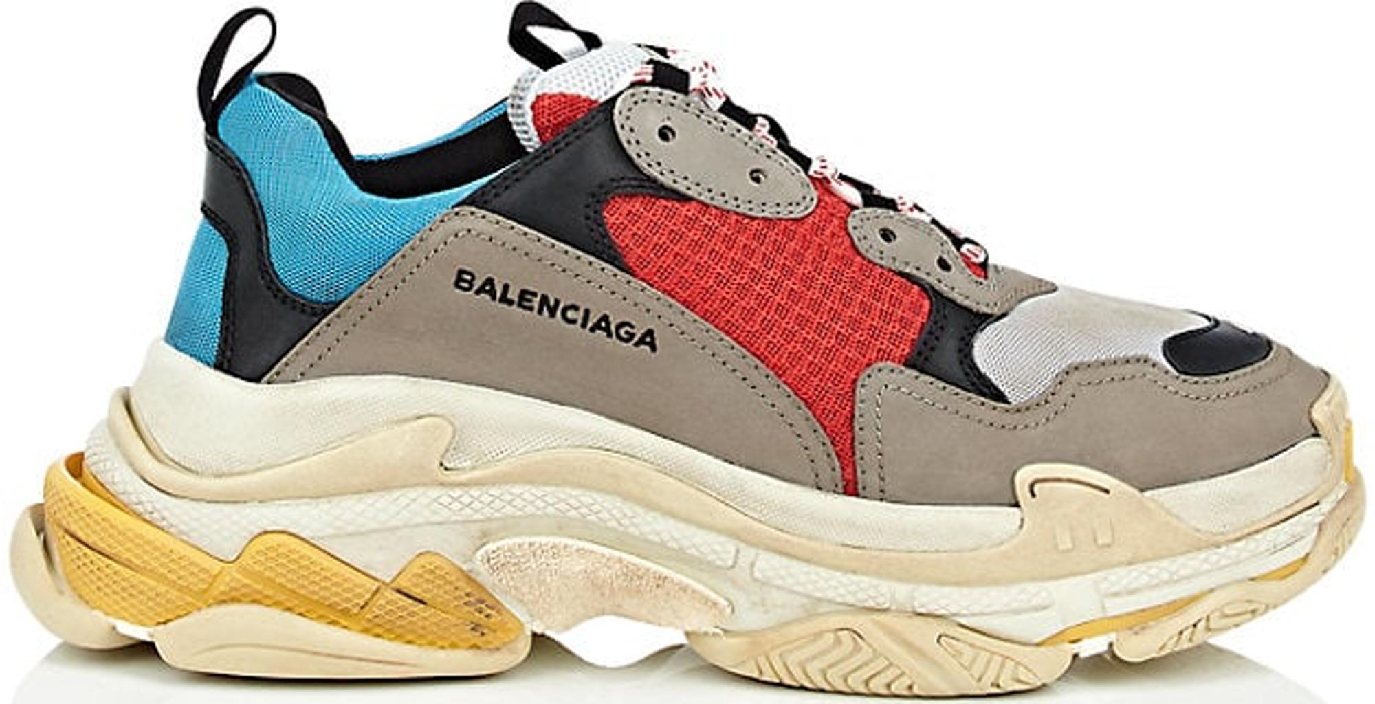 Balenciaga Triple S Taupe Multi - Sneakers