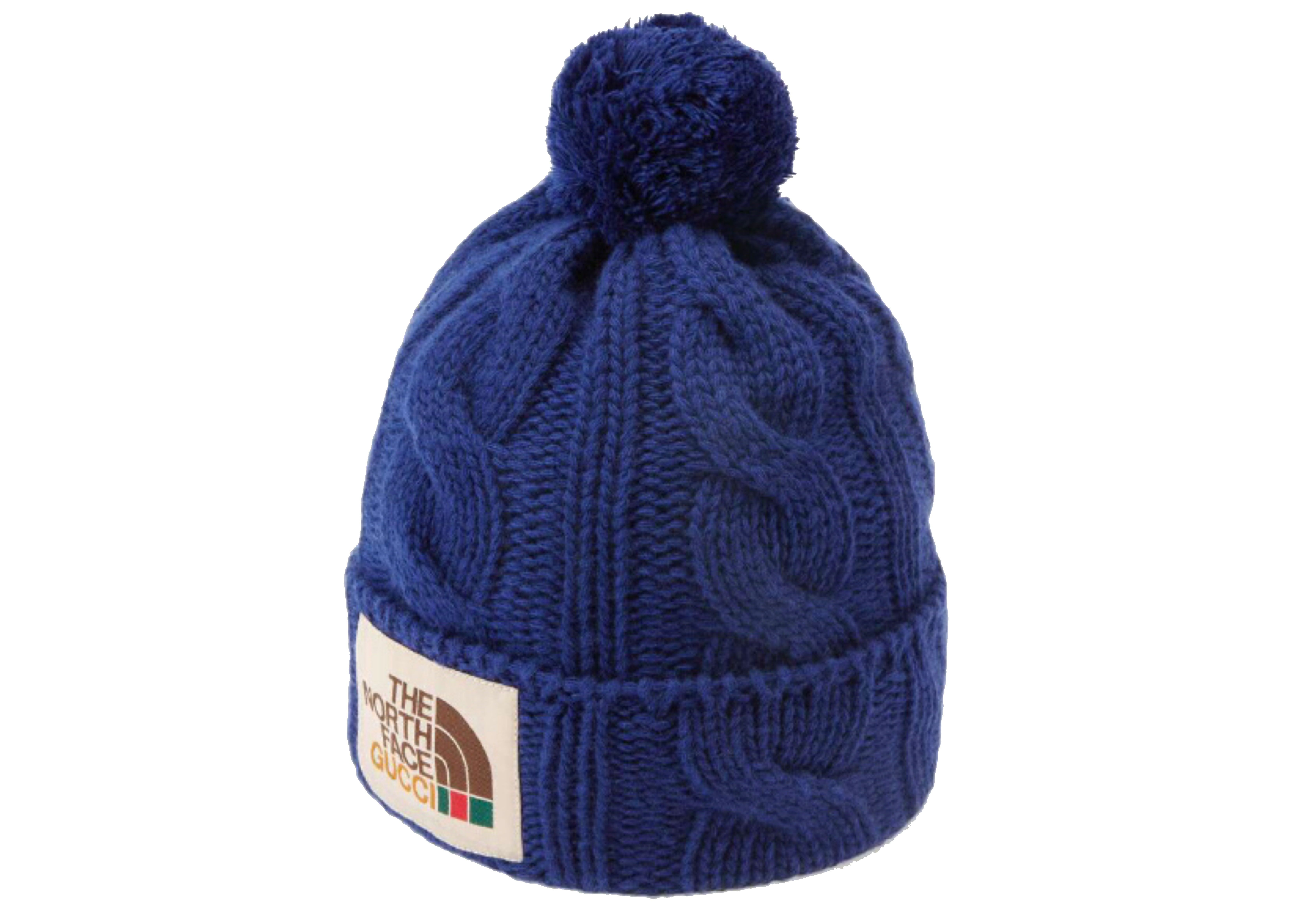 Pre-owned Gucci  X The North Face Wool Hat Blue