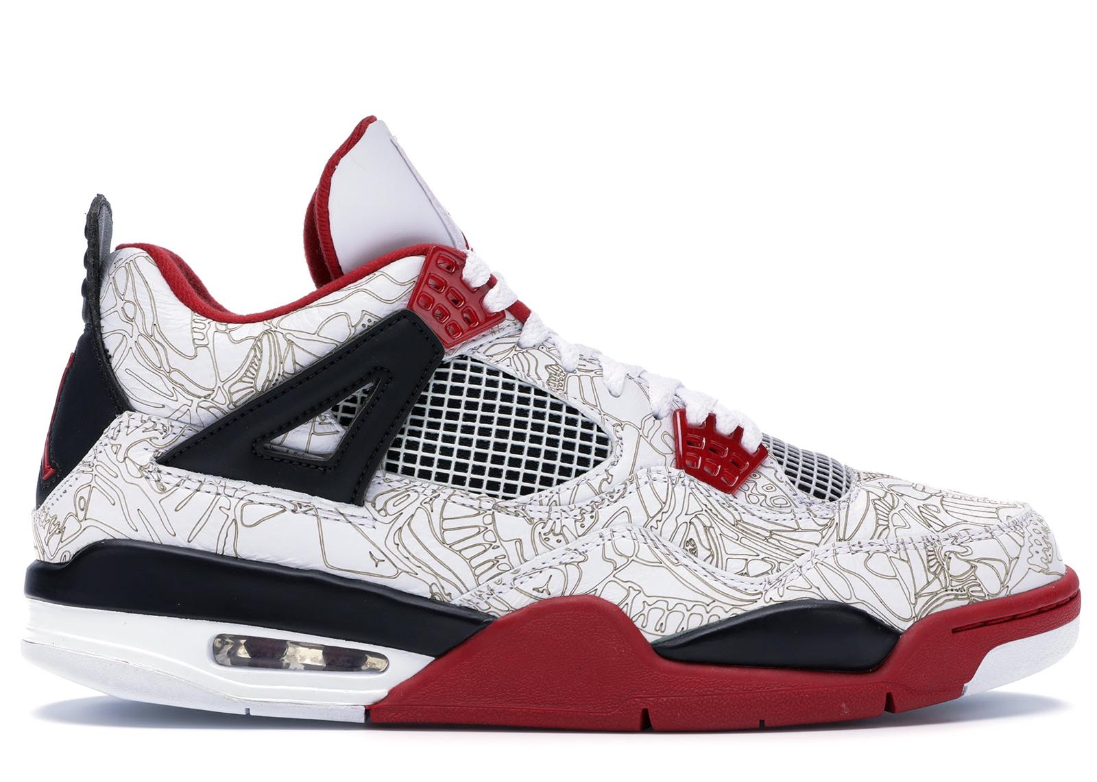 Jordan 4 Retro White Laser - 308497-161