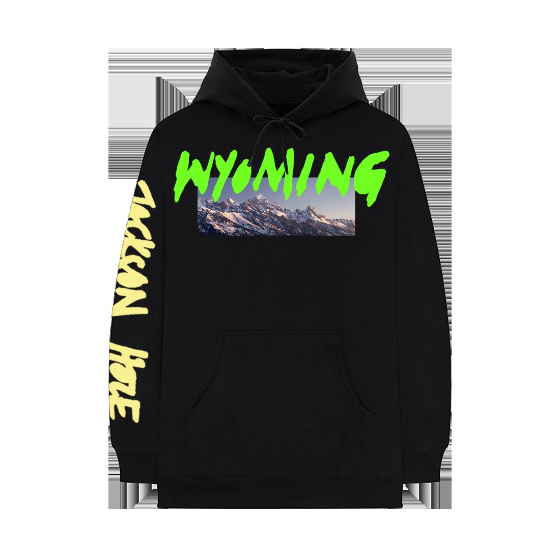 Kanye West Wyoming Hoodie Black - SS18