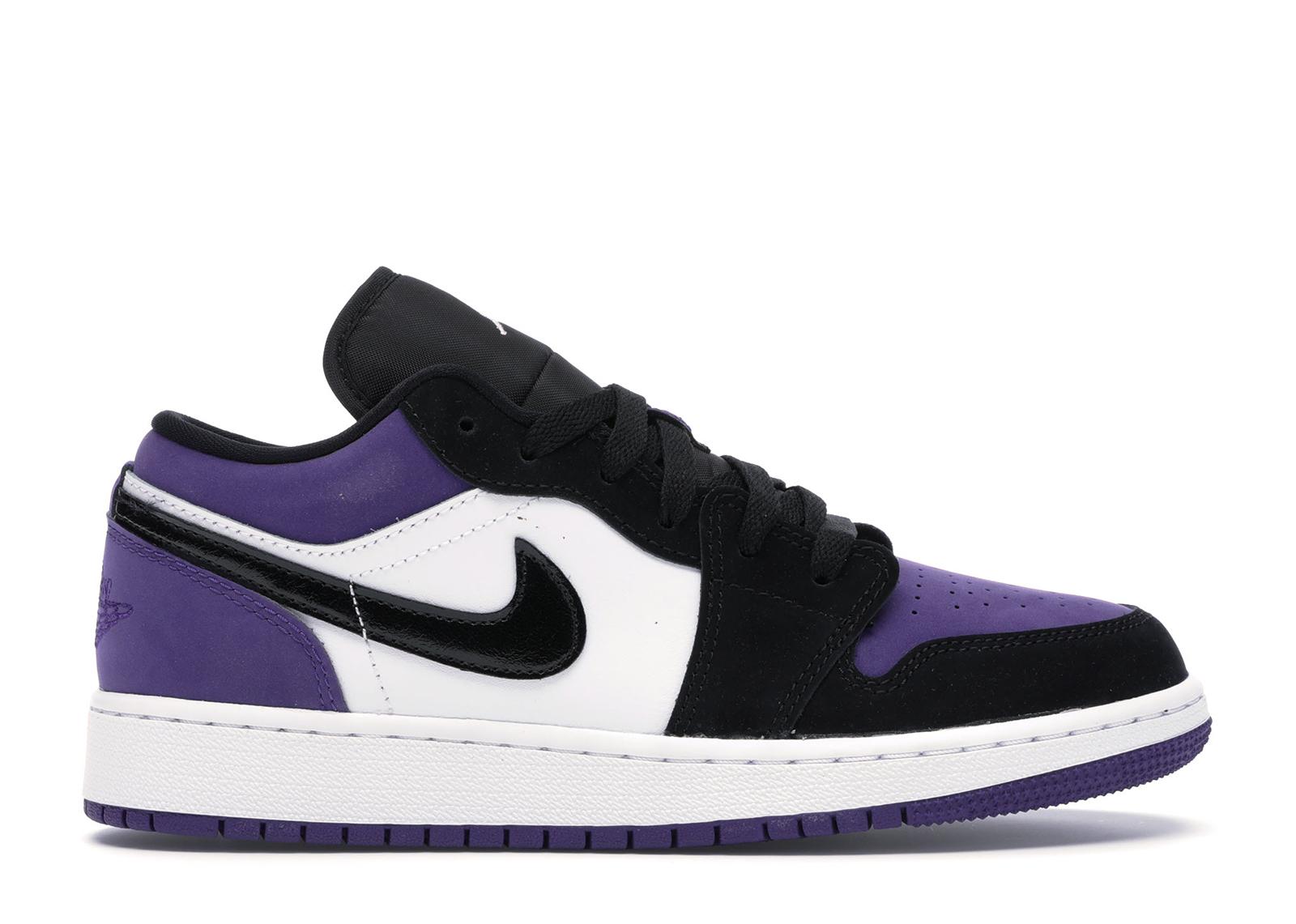 Air Jordan 1 Low Court Purple (GS)
