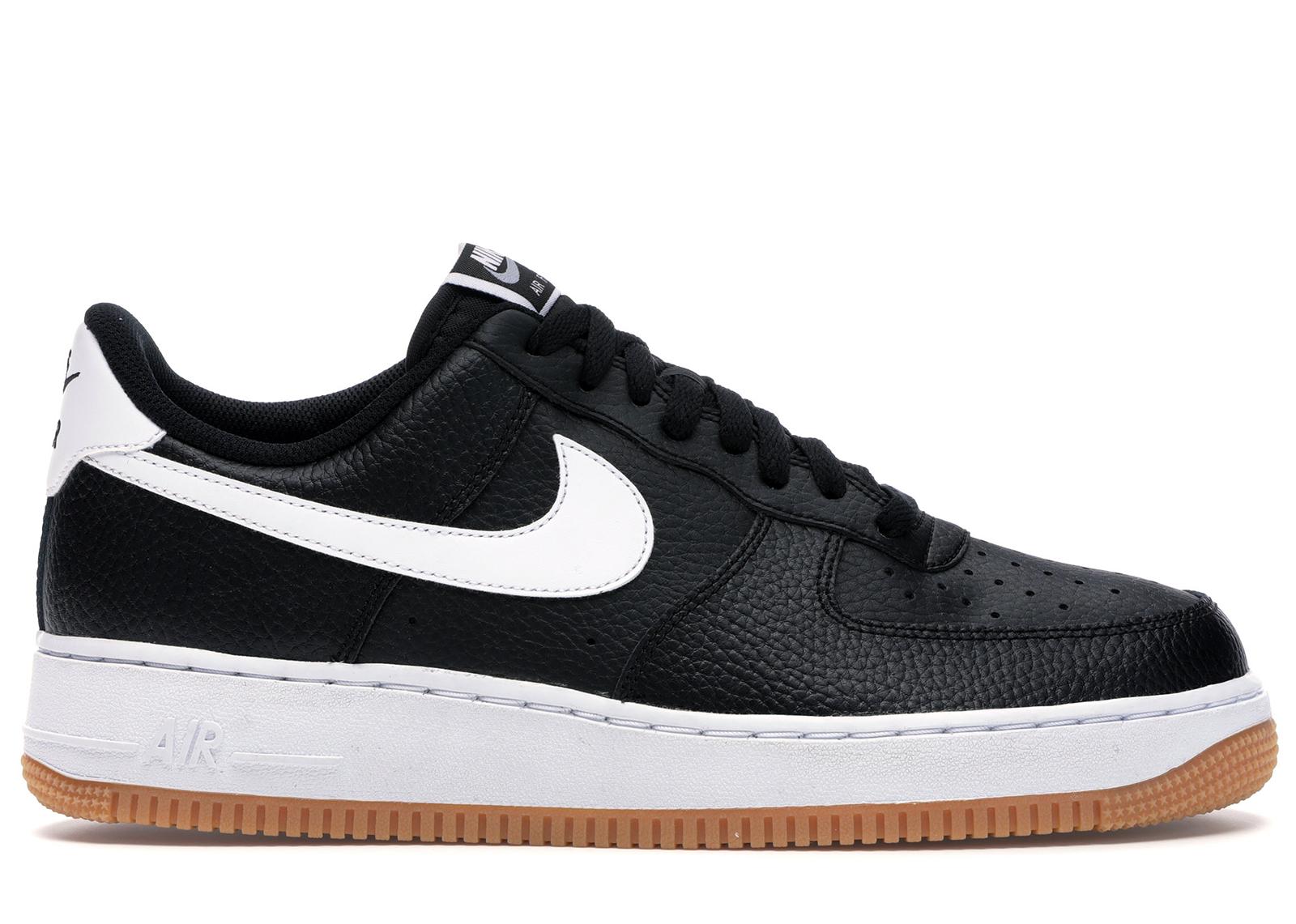 Nike Air Force 1 '07 Black White Gum