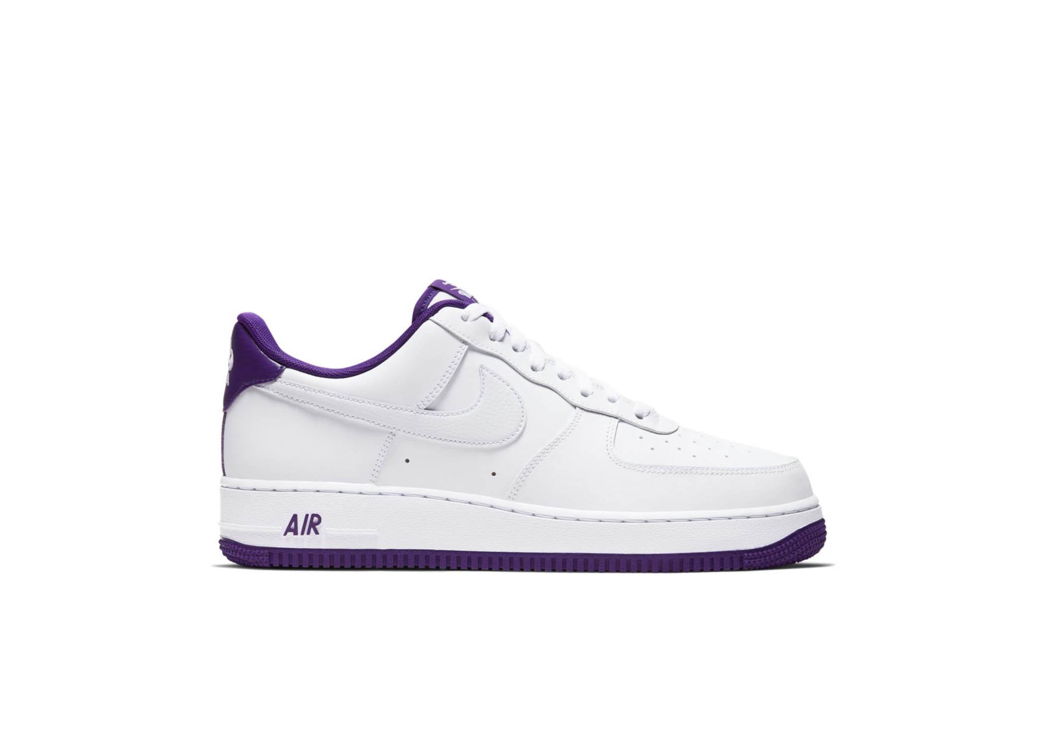 air force 1 violet femme