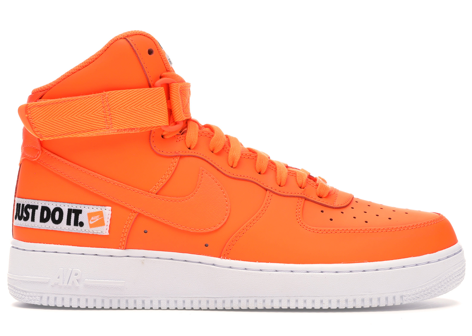 air force 1 orange et blanche