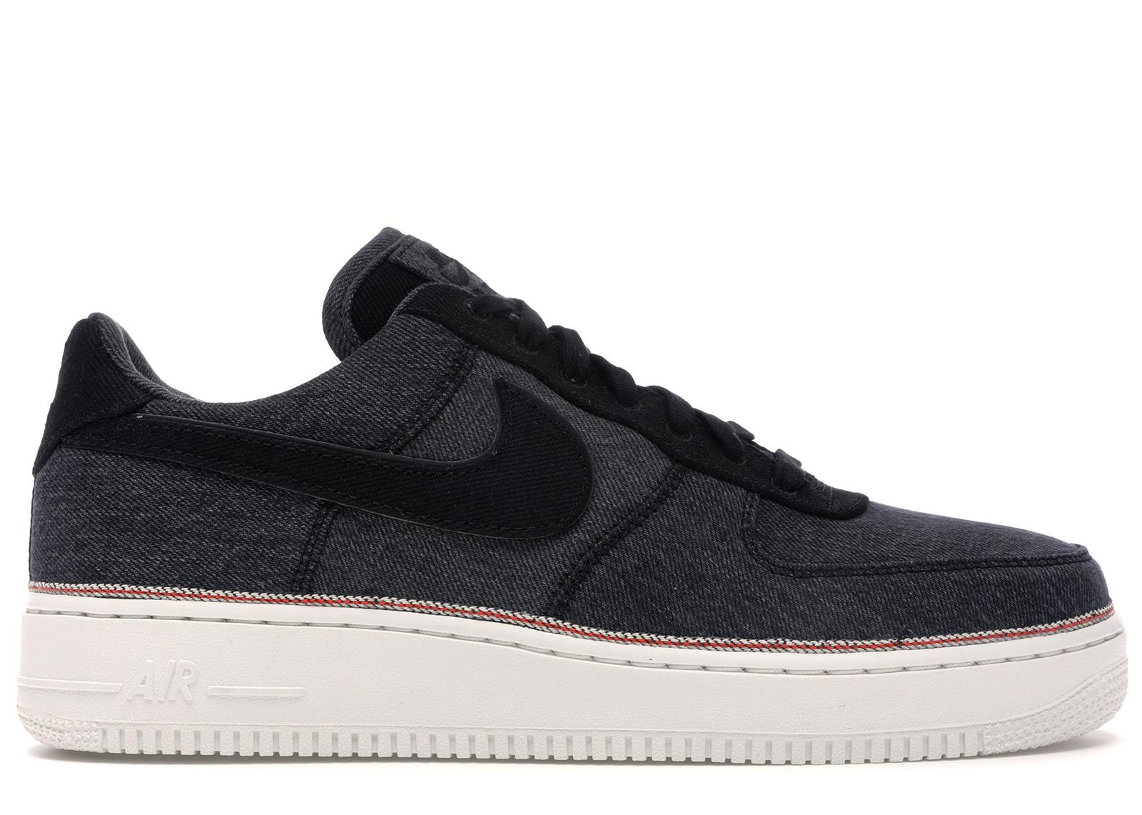 Nike Air Force 1 Low 3x1 Denim Black