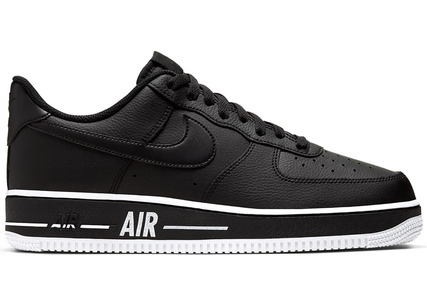 Nike Air Force 1 Low Bold Air Black White
