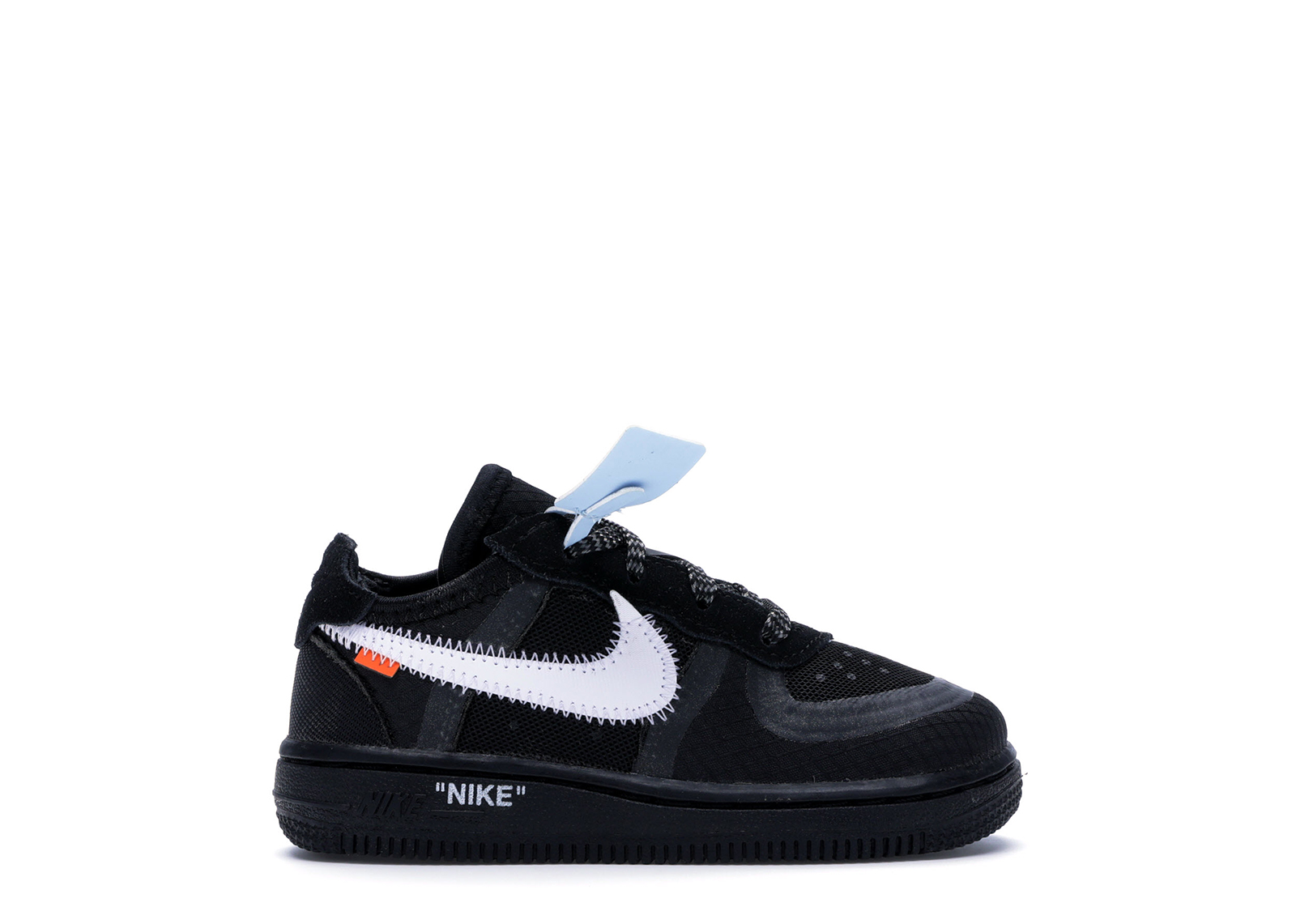 Nike Air Force 1 Low Off-White Black White (TD)