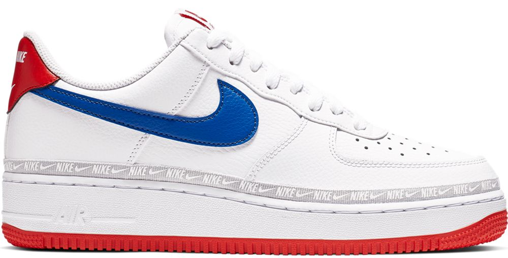 Nike Air Force 1 Low Overbranding White