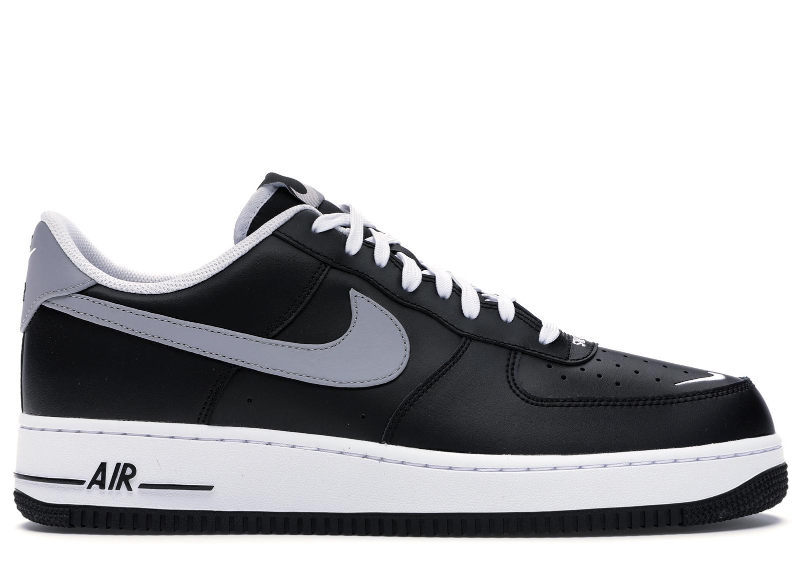 Nike Air Force 1 Low Swoosh Pack Black