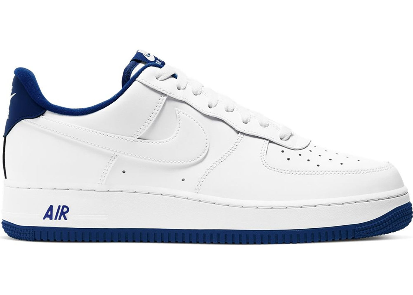 Nike Air Force 1 Low White Deep Royal Blue