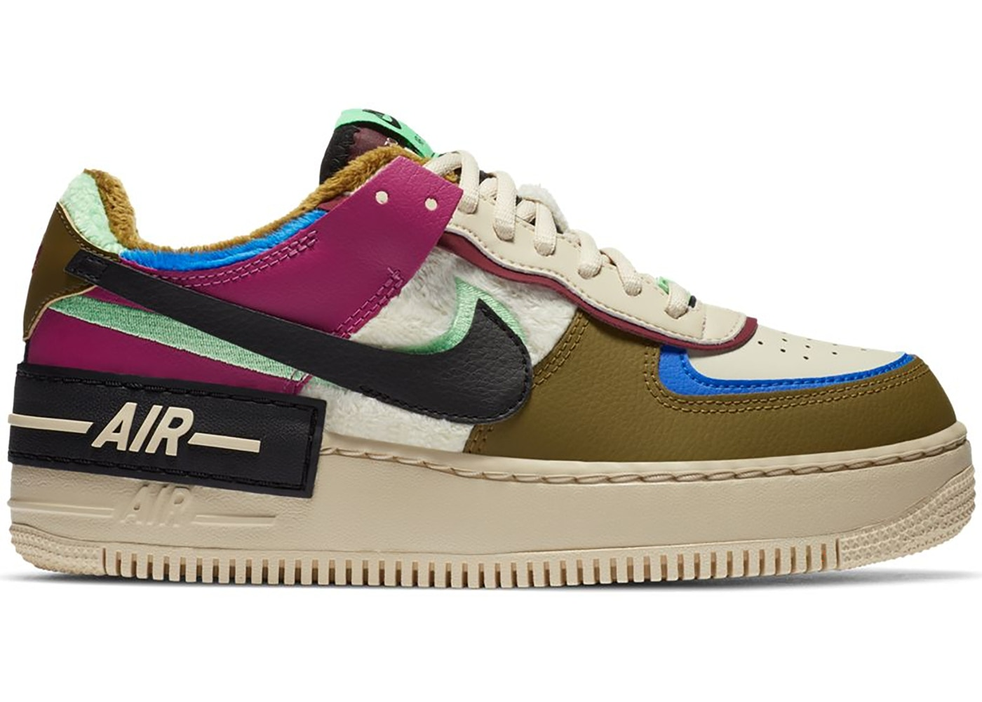 Nike Air Force 1 Shadow Cactus Flower Olive Flak W Ct1985 500 The nike air force 1 shadow sapphire unboxing unboxing showing a up close look at the sneaker. nike air force 1 shadow cactus flower olive flak w