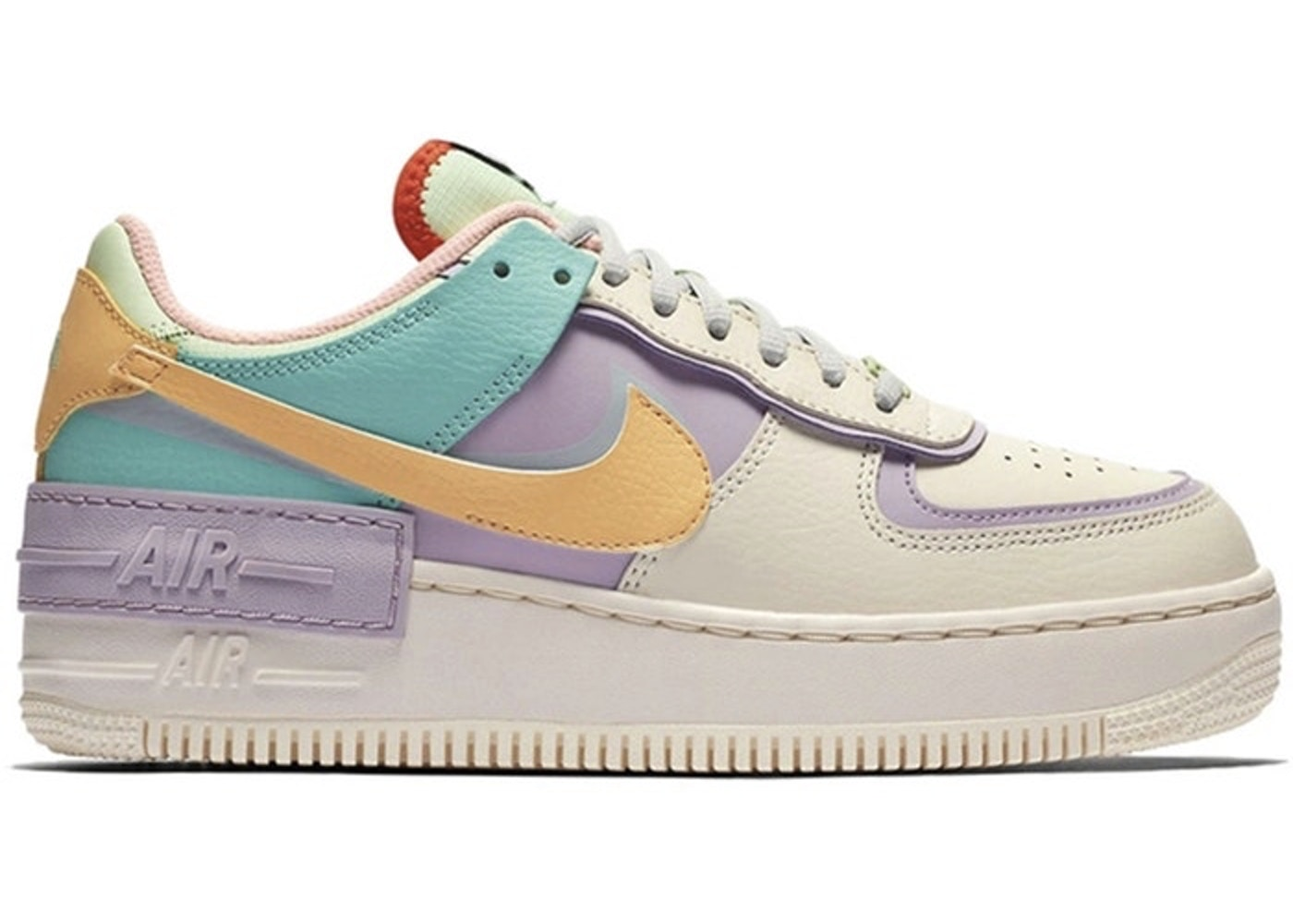air force 1 pastel femme shadow