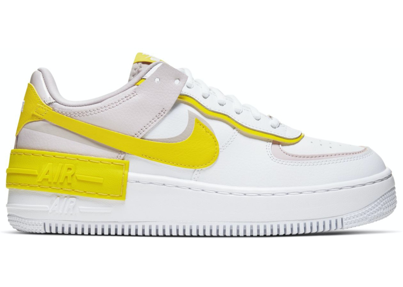 Nike Air Force 1 Shadow White Barely Rose W Cj1641 102 The air force 1 lv8 takes the iconic sneaker and mixes and matches materials for standout results. nike air force 1 shadow white barely rose w