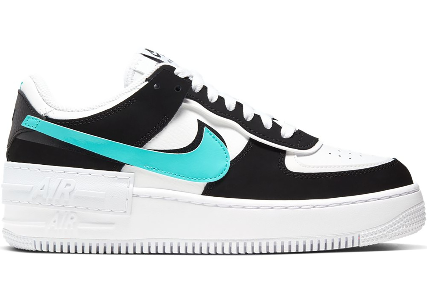 Nike Air Force 1 Shadow White Black Aurora W Cz7929 100 The legendary air force 1 low casual shoes are still just as coveted today as they were when they first hit the scene in the 1980s. nike air force 1 shadow white black aurora w
