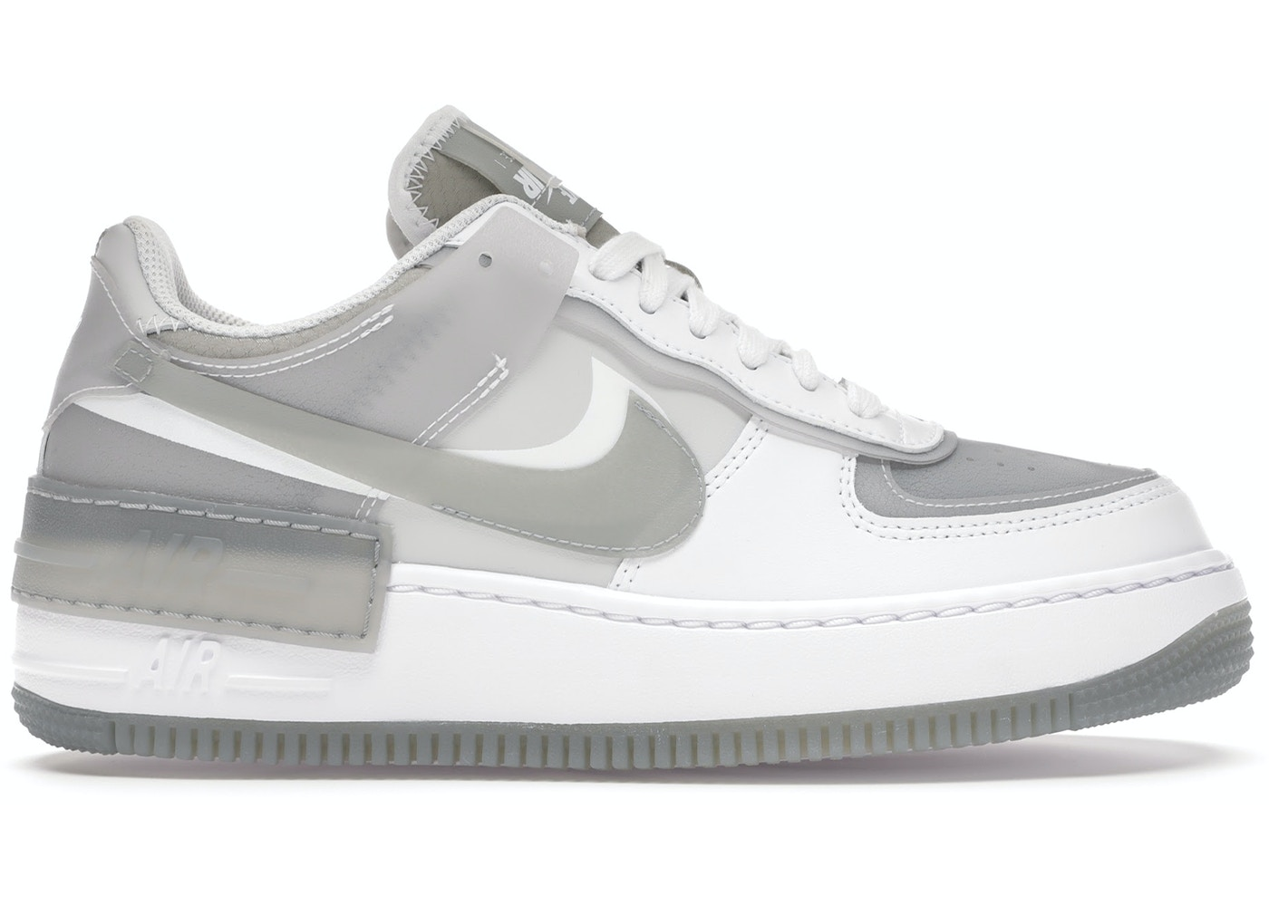 2yjx7gmfne37dm Grey suedes, pastel pinks, and neutral white leathers then construct the paneling elsewhere, allowing for the aforementioned to stand out much more pronounced. https stockx com nike air force 1 shadow white grey w