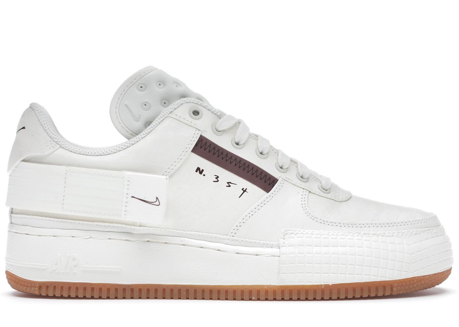 Nike Air Force 1 Type Sail Gum