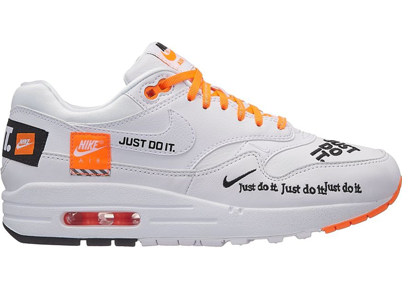 Nike Air Max 1 Just Do It Pack White