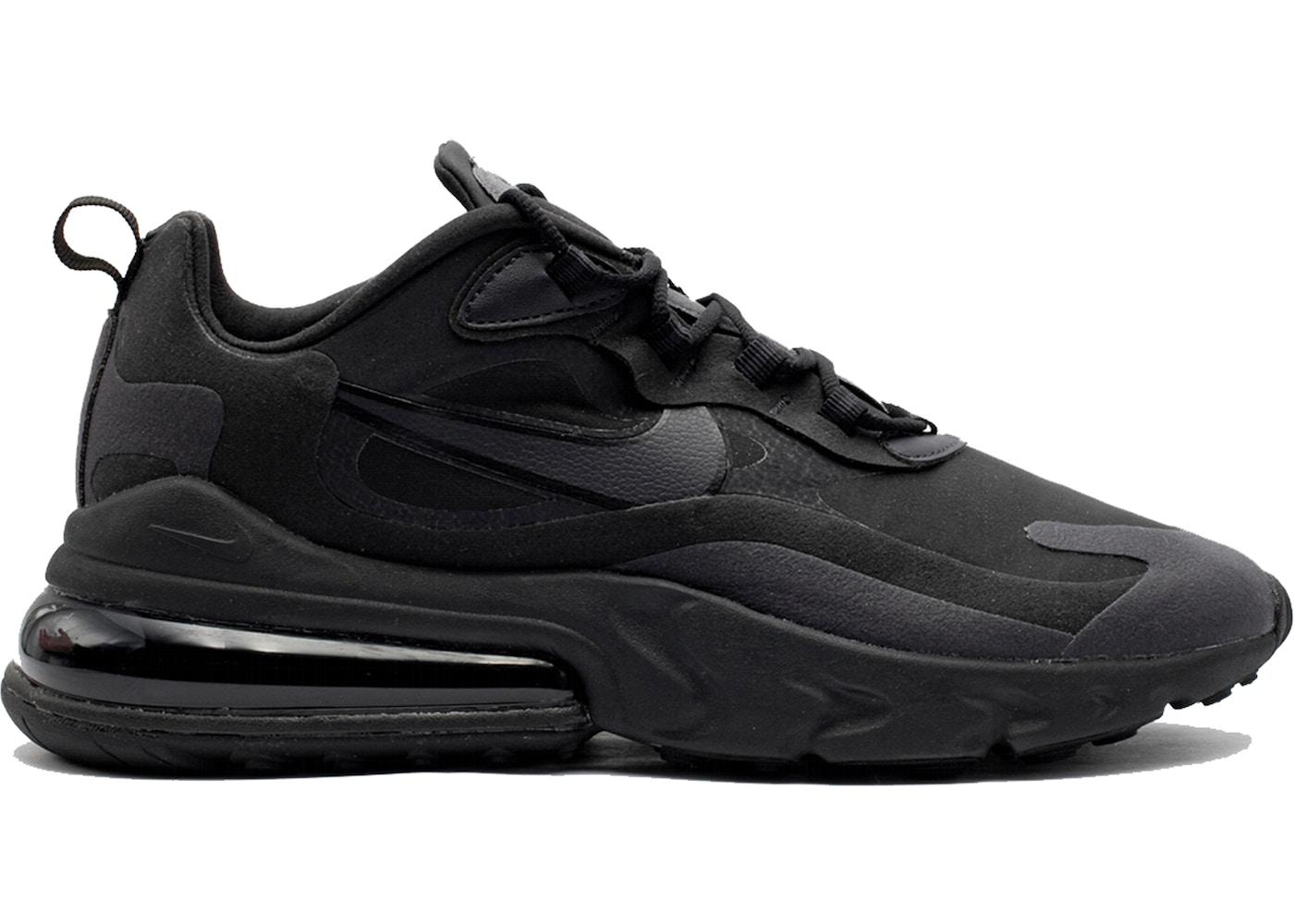 Nike Air Max 270 React Hip Hop Triple Black