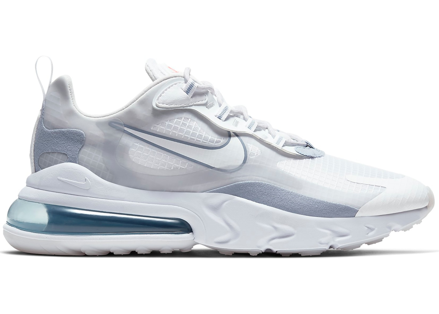 Nike Air Max 270 React White Pure Platinum