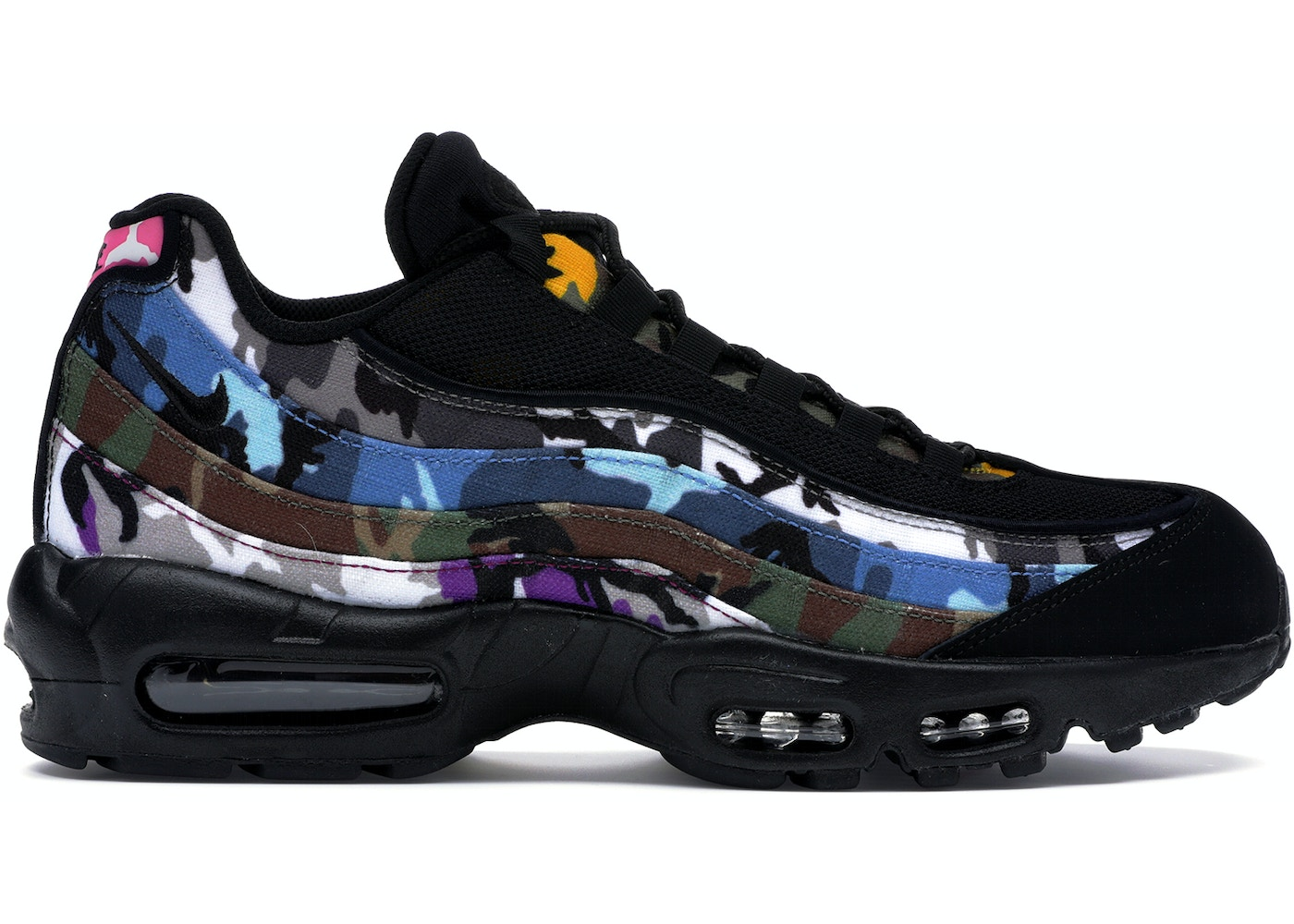 Filadelfia cobija Riego  Nike Air Max 95 ERDL Party Black — HypeAnalyzer