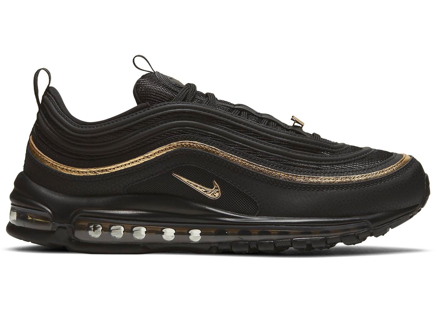Nike Air Max 97 CM Black Metallic Gold