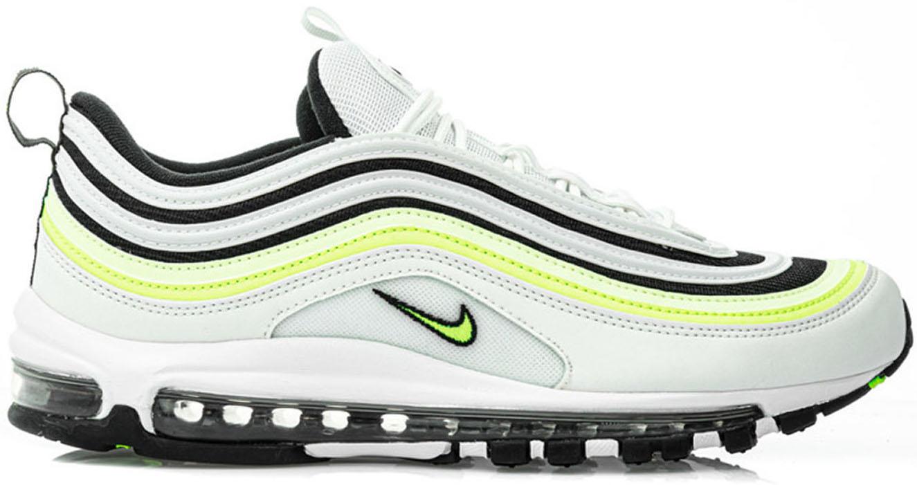 Nike Air Max 97 White Black Volt