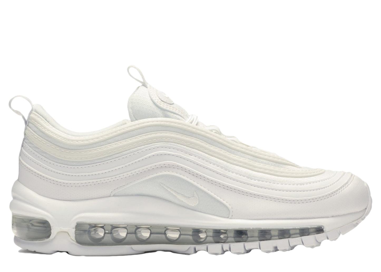 Nike Air Max 97 White Metallic Silver