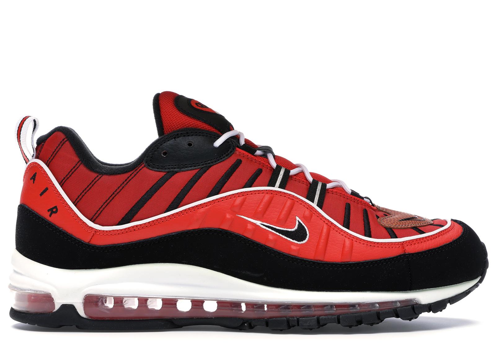 Nike Air Max 98 Habanero Red Black