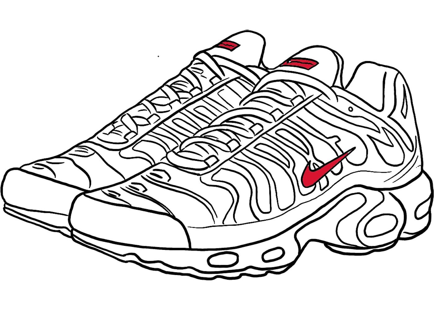 Nike Air Max Plus Supreme White