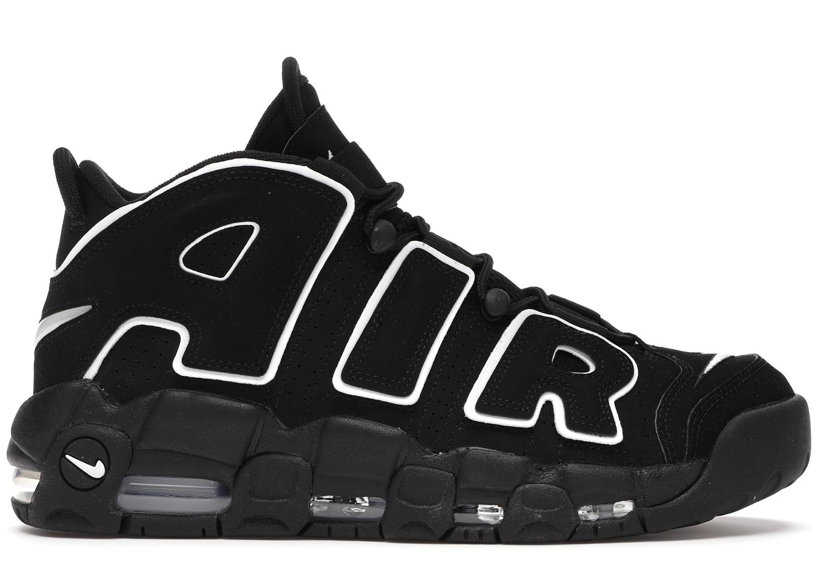 Nike Air More Uptempo Black White (2016/2020)