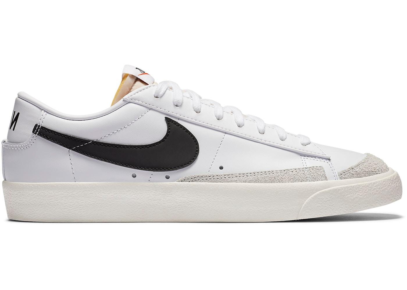 Nike Blazer Low 77 Vintage White Black