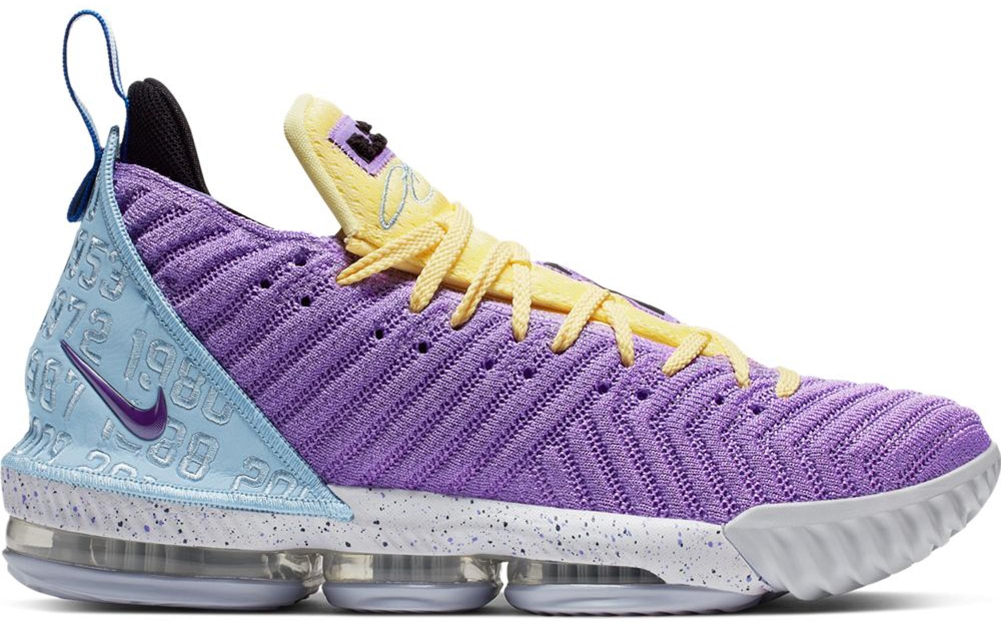 Nike LeBron 16 Lakers Championships