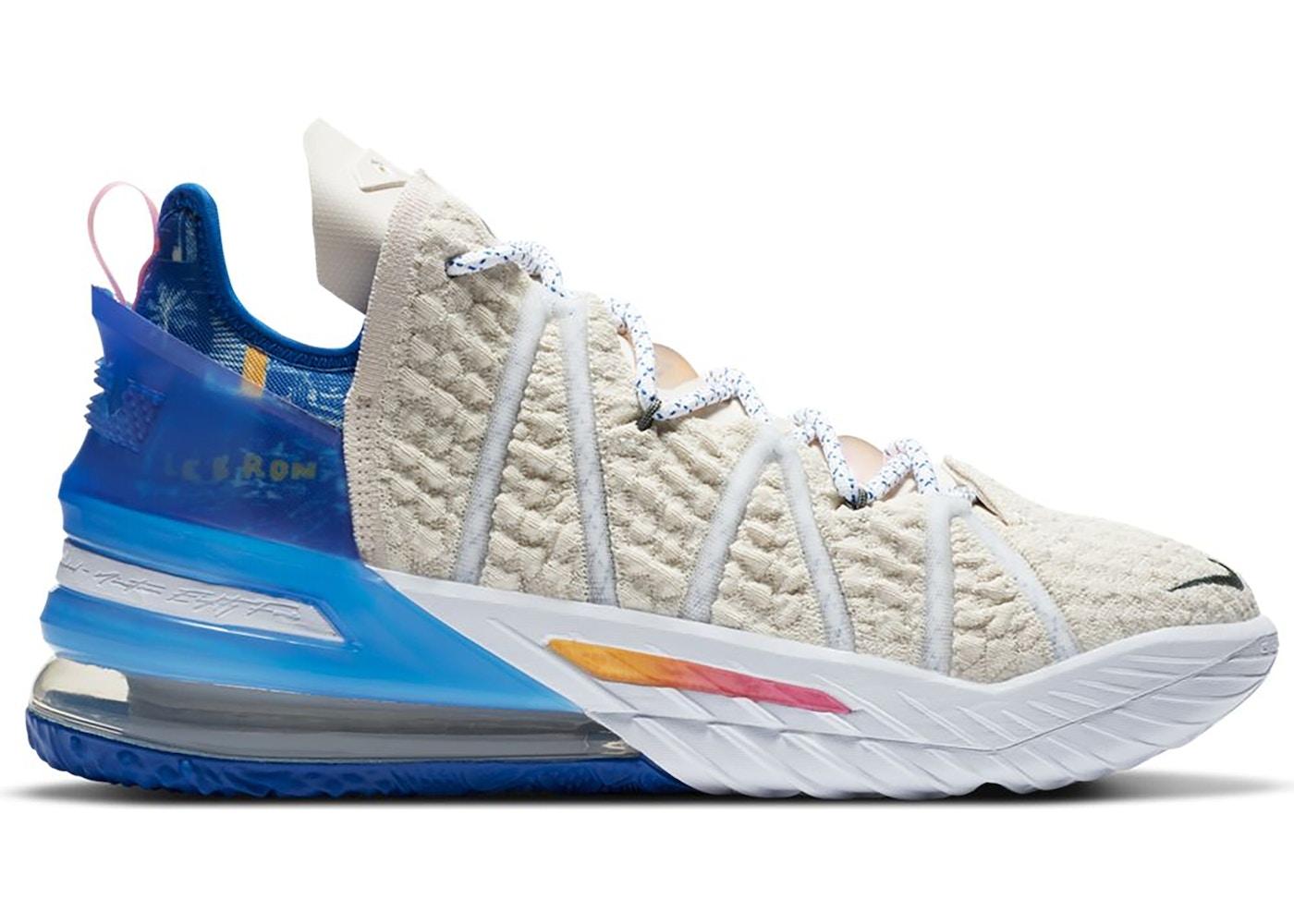 Nike Lebron 18 Los Angeles By Day Db8148 200