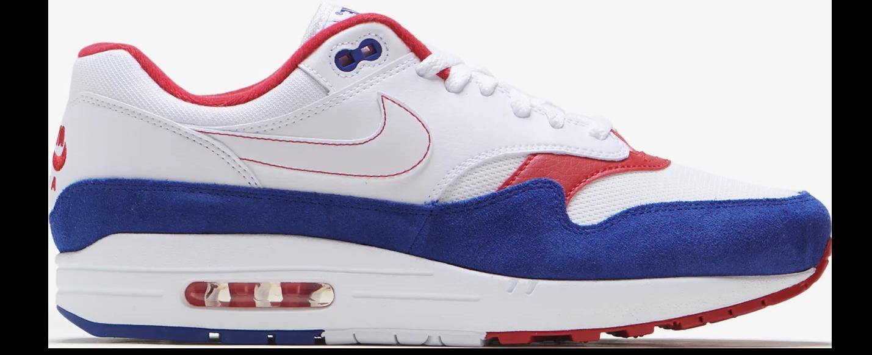 Nike Air Max 1 White Red Blue - CJ9927-100