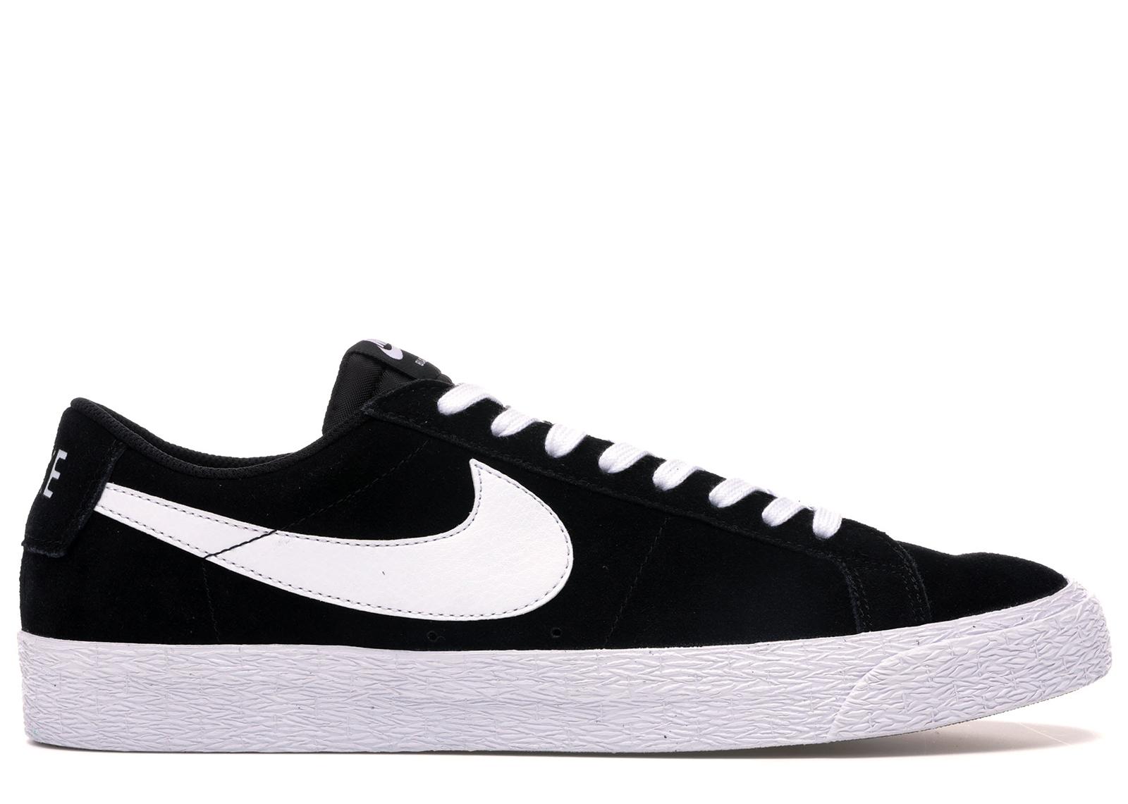 Nike SB Blazer Low Black White