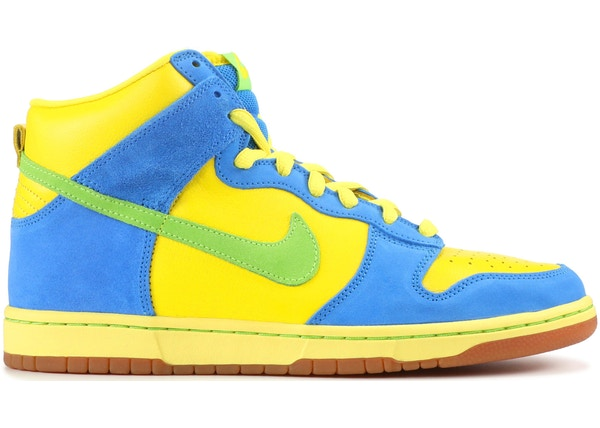 chaussure nike simpsons