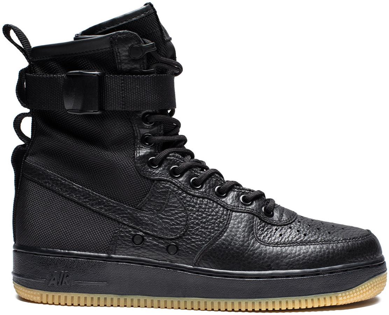 Nike SF Air Force 1 Black Gum (2017 No