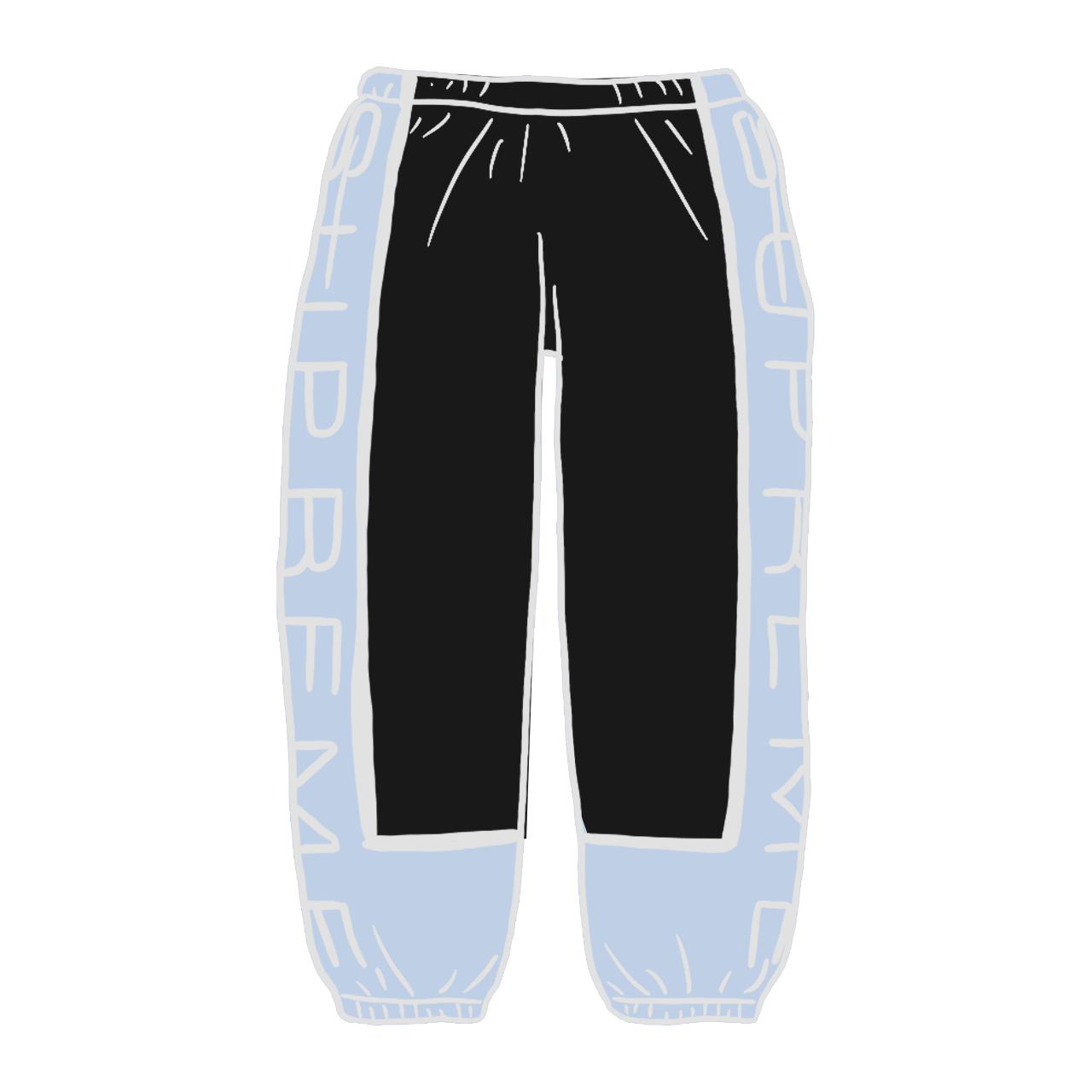 Supreme Paneled Sweatpant (SS21) Black