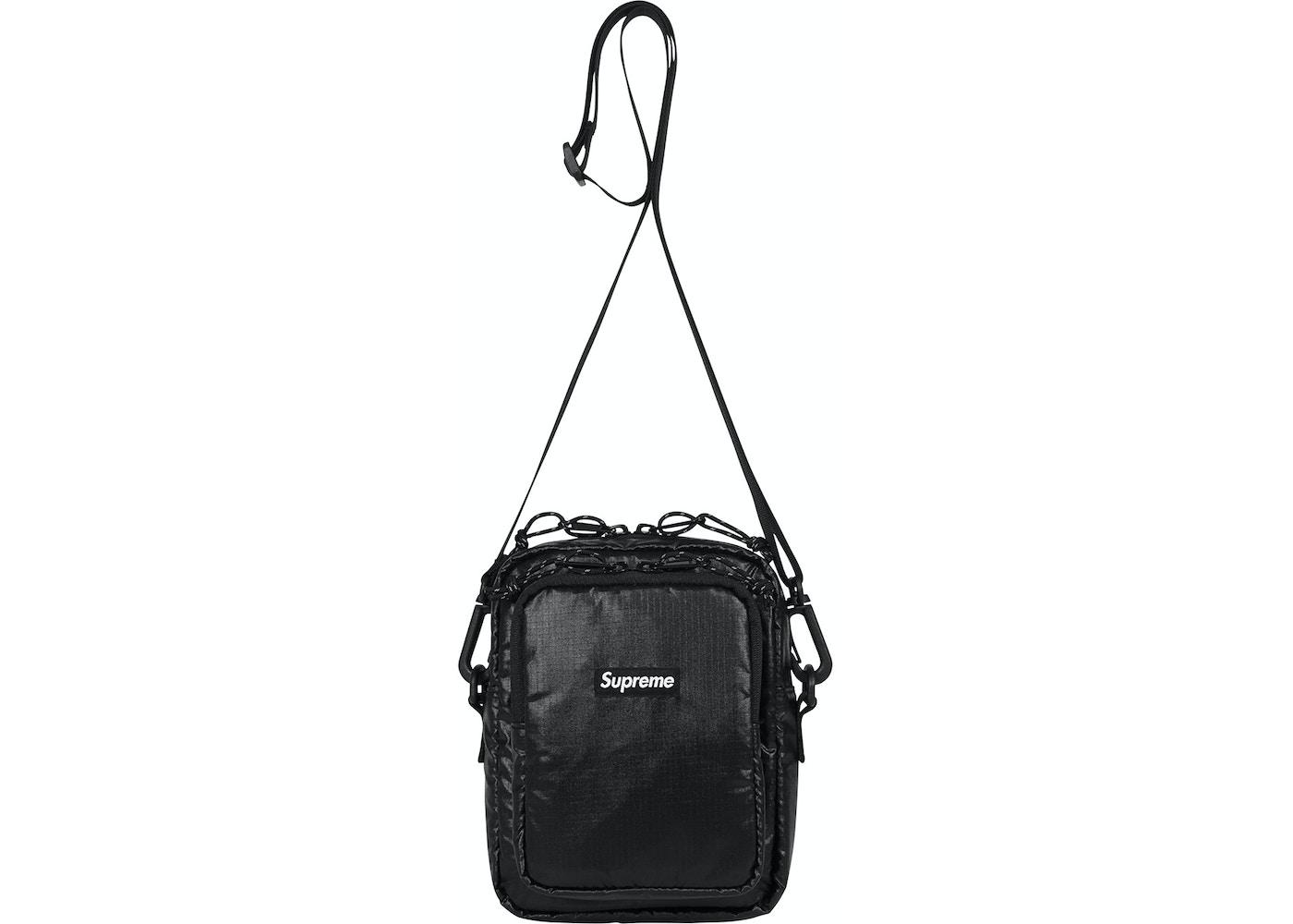Supreme Shoulder Bag Black Fw17