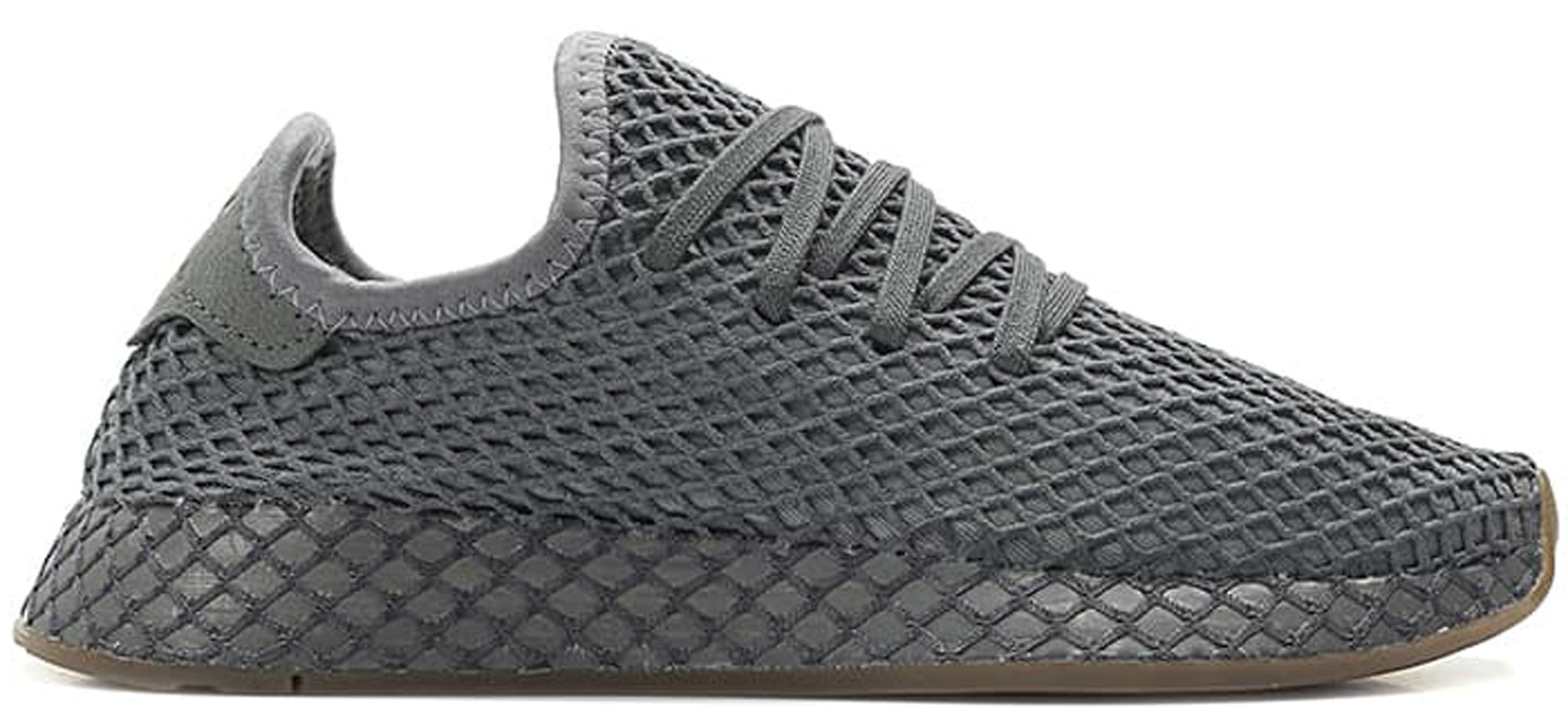 adidas Deerupt Grey Gum (Youth) - DA9609