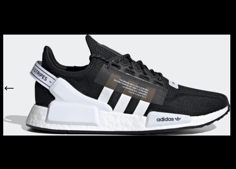 adidas NMD R1 V2 Black White - FV9021