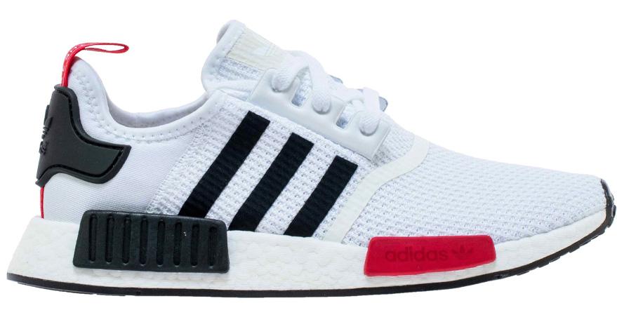 adidas NMD R1 White Black Red - EG2698