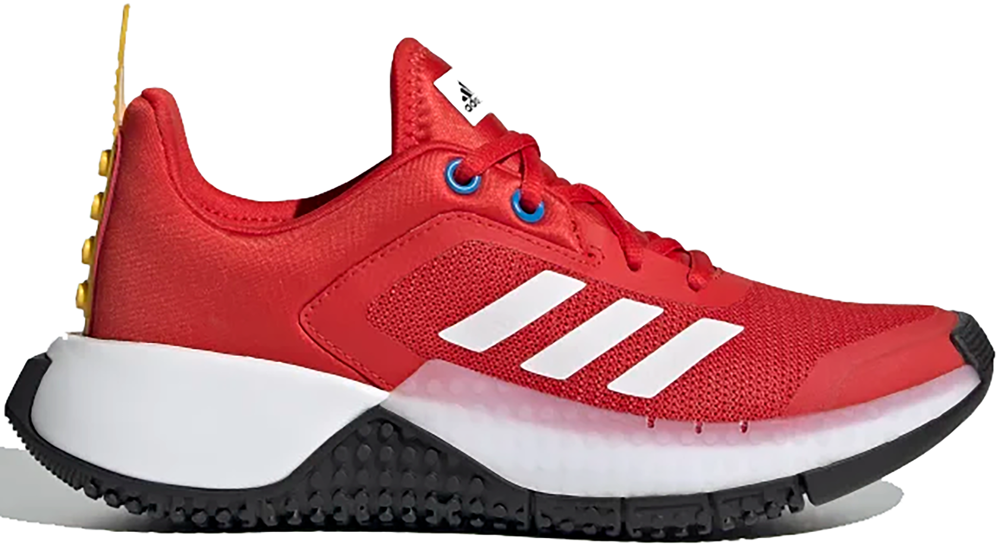 Pre-owned Adidas Originals  Sport Shoe Lego Red (gs) In Red/cloud White/equipment Yellow